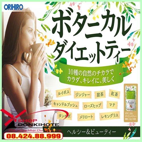 Giảm cân Orihiro Tea Nhật Bản