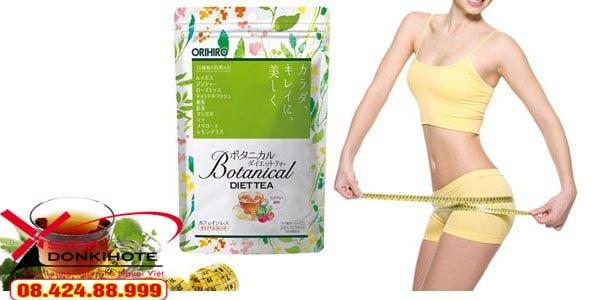 Giảm cân Orihiro Tea Nhật Bản chính hãng tại Cần Thơ
