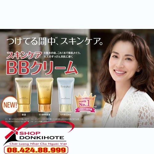 Sản phẩm kem bb kanebo được ưa chuộng tại Nhật Bản