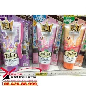 Kem tẩy lông epilat được ưa chuộng tại Nhật, tẩy lông sạch và nhanh chóng