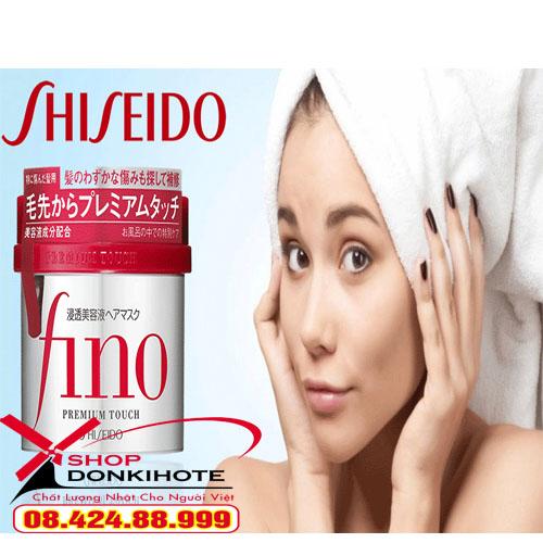Kem ủ tóc Fino Shiseido hộp 230g của Nhật