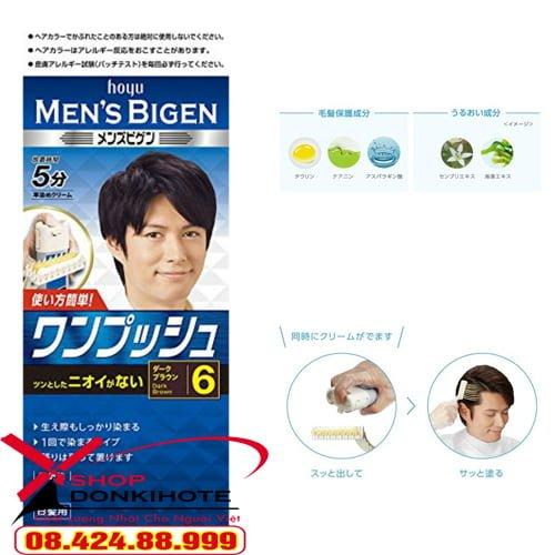 Nhuộm tóc an toàn Bigen Men Nhật