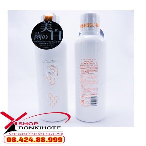 Nước súc miệng Propolinese màu trắng tại donkivn.com shop