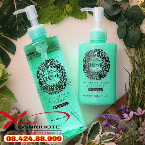 Nước tẩy trang Rosette Skin Conditioner Cleansing Water