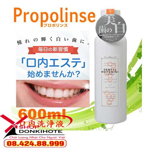 Nước súc miệng Propolinese sạch miệng chắc răng