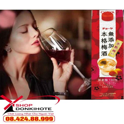 Rượu mơ choya Nhật Bản 1.8 lít tại donkivn.com