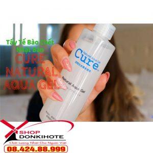 tẩy tế bào chết dạng gel Nhật Bản Cure Aqua Nature Gel