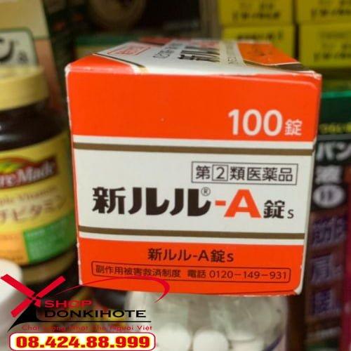 Thuốc trị cảm cúm hiệu quả LULU - A 100 viên Nhật Bản