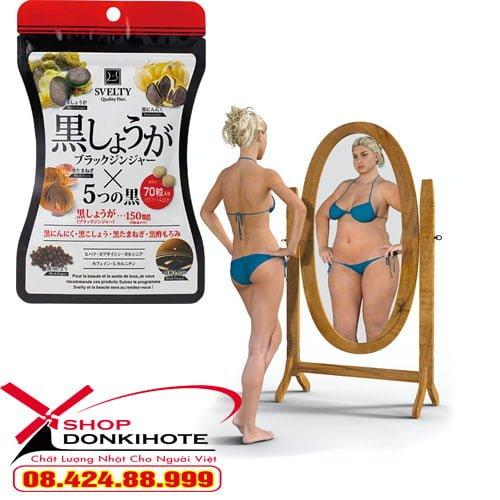 Viên uống giảm cân giảm béo Svelty Diet chính hãng giá tốt