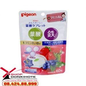 vitamin tổng hợp cho bà bầu pigeon Nhật mẹ tăng đề kháng con thông minh