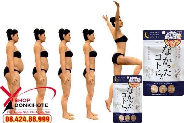 Enzyme giảm cân ban ngày Nhật Bản