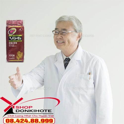 Công dụng thuốc bổ gan dạng gói