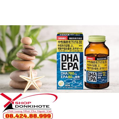 Công dụng tuyệt vời của thuốc bổ não DHA EPA Nhật Bản
