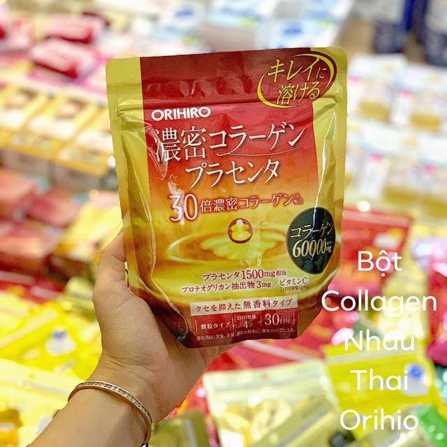 collagen nhau thai orihiro 120gr