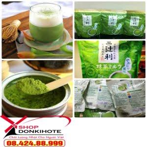 1 ly trà xanh matcha Nhật bằng 10 ly trà thông thường