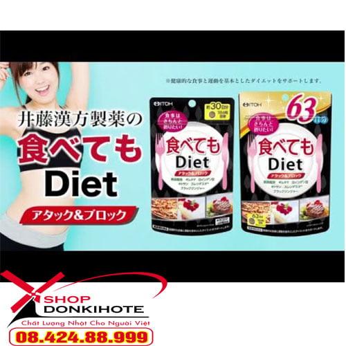 Công dụng thuốc giảm cân ITOH Nhật Bản