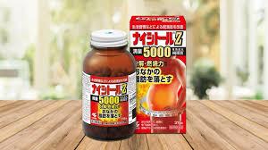 Viên uống giảm mỡ bụng Naitoshi z5000 loại 420 viên