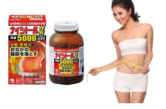 Nơi bán Viên uống Naitoshi z5000 giảm mỡ bụng