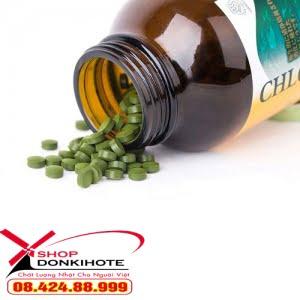Viên uống tảo diệp lục giúp làm đẹp da. tăng đề kháng và hỗ trợ tăng/giảm cân
