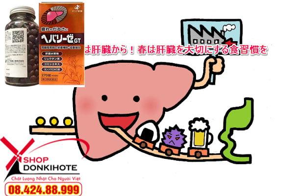 Nơi bán thuốc bổ gan Nhật chính hãng