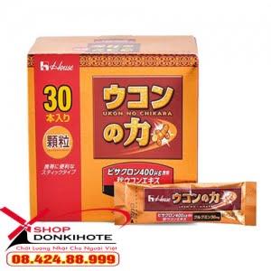 Bột nghệ giải rượu No Chikara Super Ukon House 20 gói