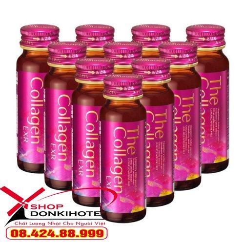 Nước uống Shiseido Collagen EXR Japan không gây tác dụng phụ