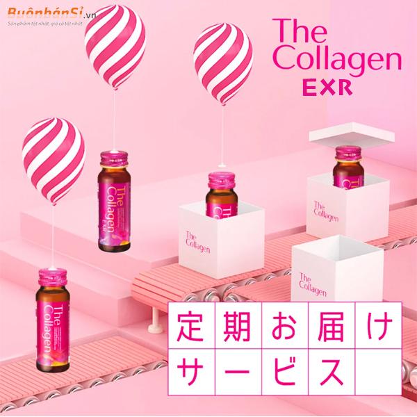 Nước uống đẹp da Collagen Exr