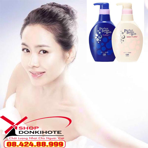 sữa tắm Senka Nhật Bản chính hãng