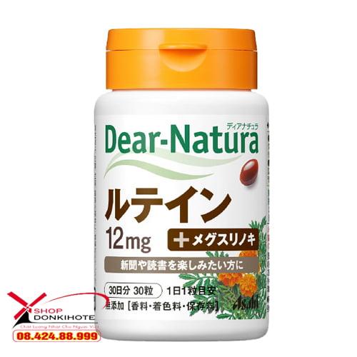 Thuốc Dear Natura Lutein tinh chất cúc vạn thọ Nhật Bản