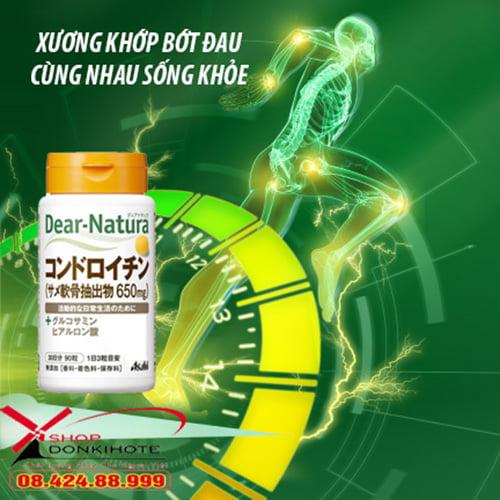 Công dụng thuốc uống Dear Natura Chondroitin Nhật Bản