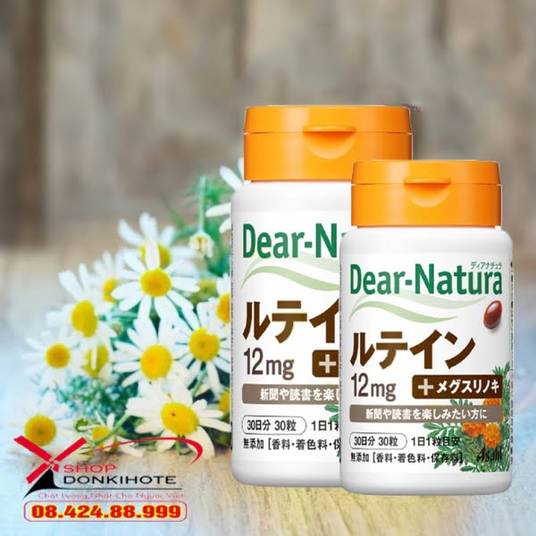 Thành phần viên uống Dear Natura