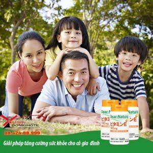 Công dụng viên vitamin E Dear Natura