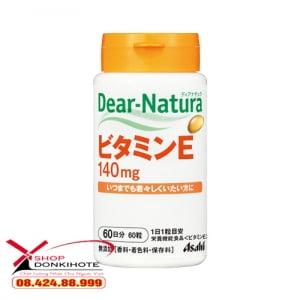 Viên uống Vitamin E Dear Natura Nhật Bản