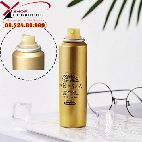 Công dụng xịt chống nắng Anessa