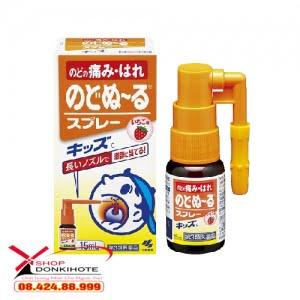 Xịt họng trị ho Kobayashi 15ml của Nhật Bản