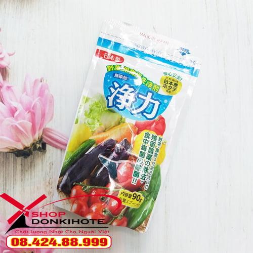 Bột rửa rau củ Nhật Bản được làm từ 100% vỏ sò điệp