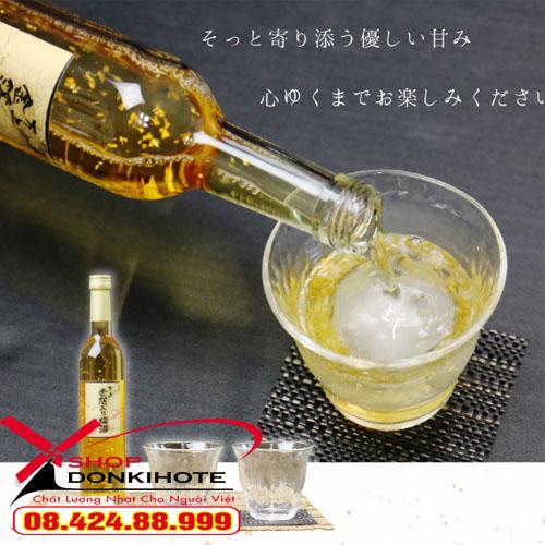 Rượu mơ vảy vàng Kikkoman Nhật Bản