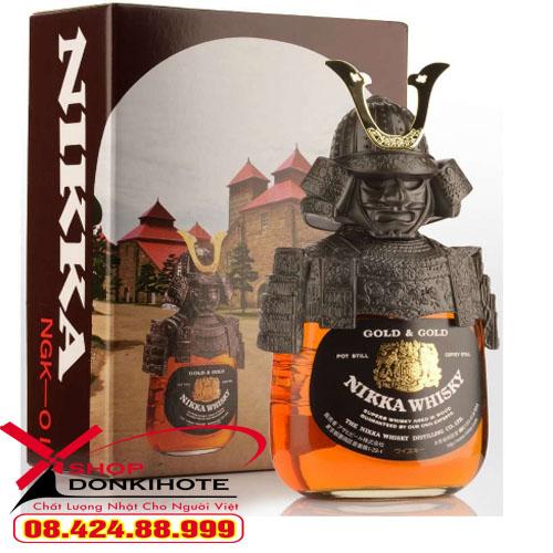 Rượu Nikka Samurai món quà cực kỳ ý nghĩa