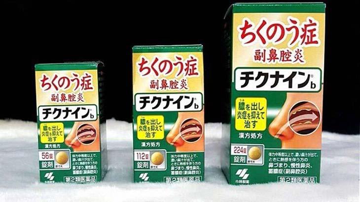 Thuốc xoang Chikunain Nhật Bản