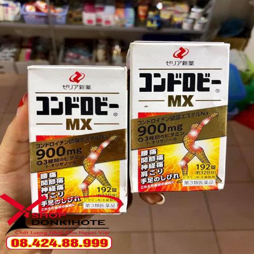 Thuốc bổ khớp MX chondroitin chính hãng