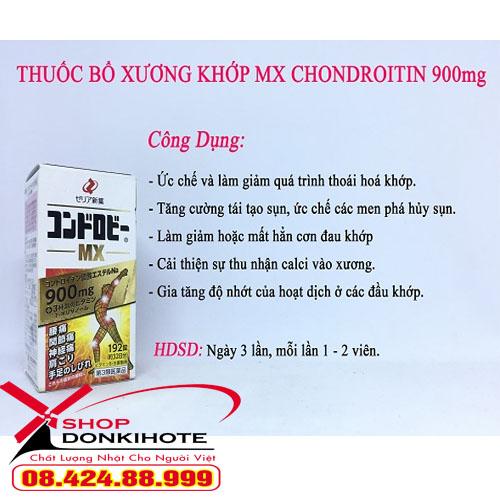 công dụng Thuốc bổ khớp MX chondroitin