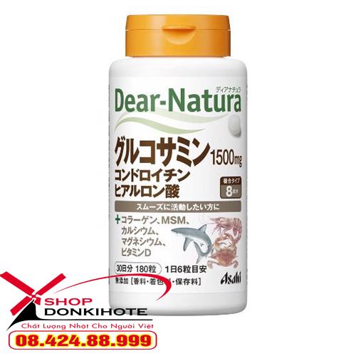 Thuốc xương khớp Glucosamin Dear Natura 180 viên