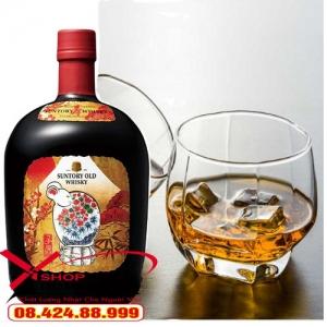 Rượu Whisky Suntory Old Canh Tý 2020