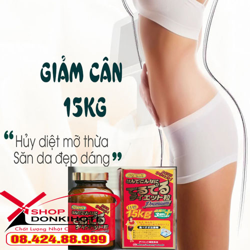Viên uống giảm cân Minami 15kg