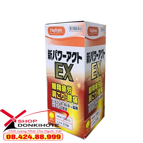 Viên uống Glucosamine Hapycom EX Nhật
