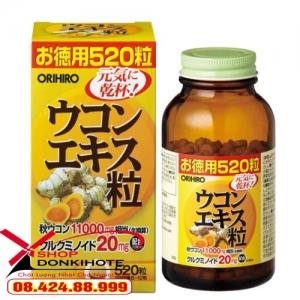 Viên uống tinh nghệ mùa thu Orihiro