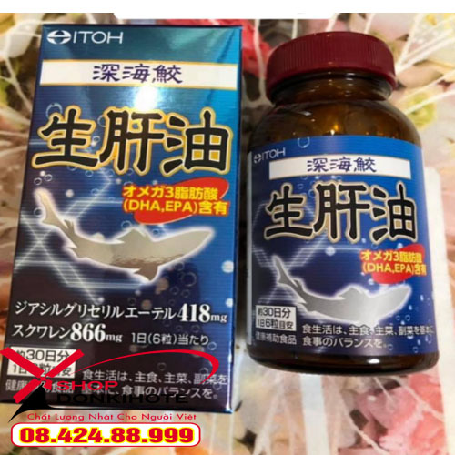 Dầu gan cá mập Itoh Nhật