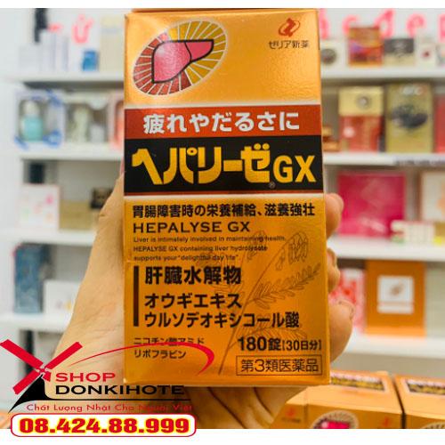 Thuốc bổ gan Hepalyse GX